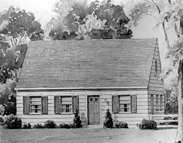 The cape cod cottage america 39 s fairytale home for 1950s cape cod house plans