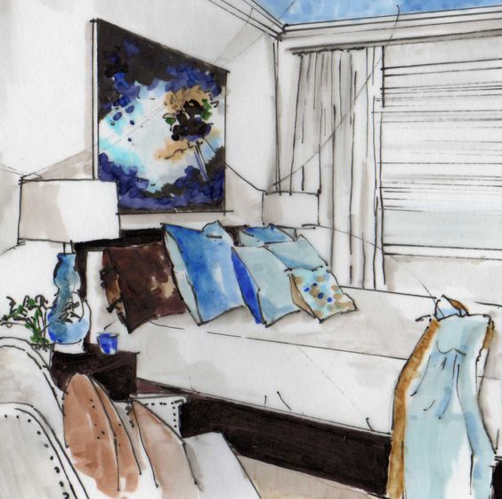 Michelle Morelan Bedroom Rendering