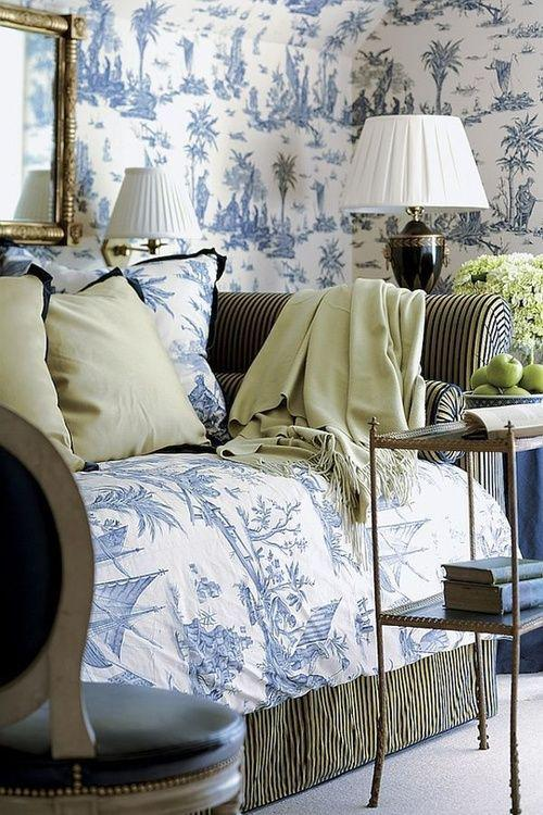 Cafe Design | Fabric Friday - Toile de Jouy