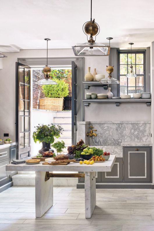 The fabulous kitchens of steven gambrel for Fabulous kitchens