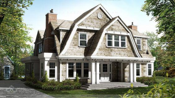 Roof Design Ideas: The Shingle Style Home