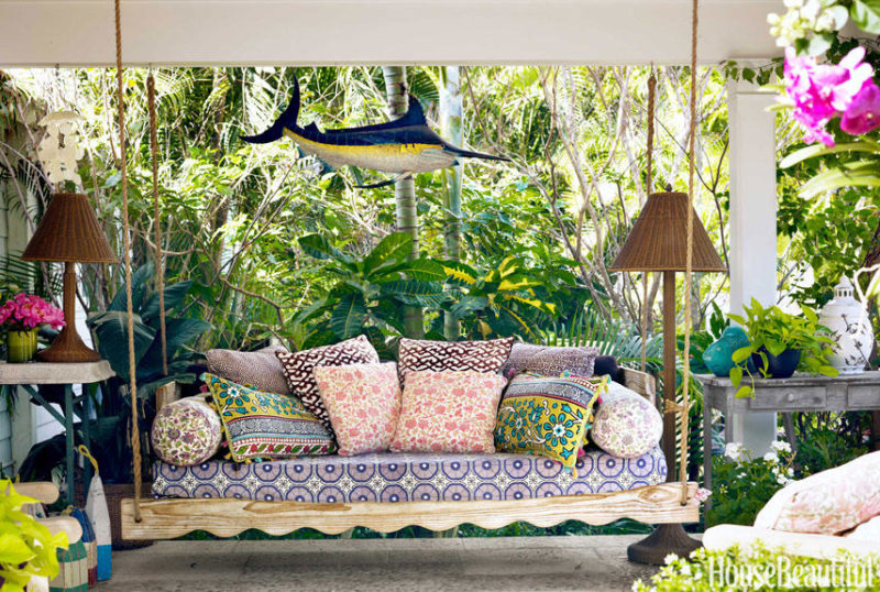 palm beach patio swing