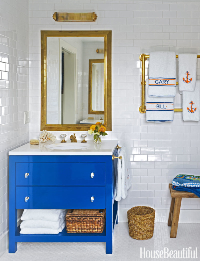 A nantucket beach house for House bathroom design