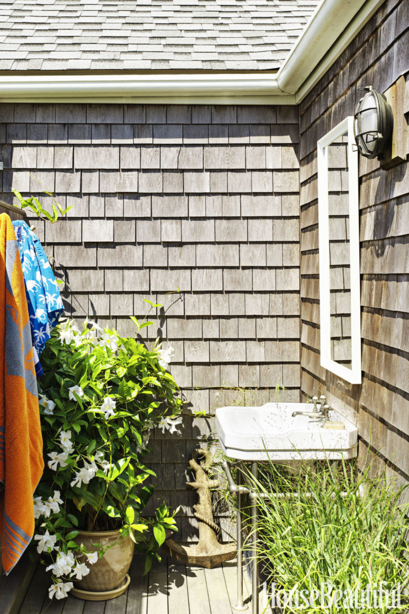 Cafe Design | Nantucket Beach House Gallery-outdoor-shower