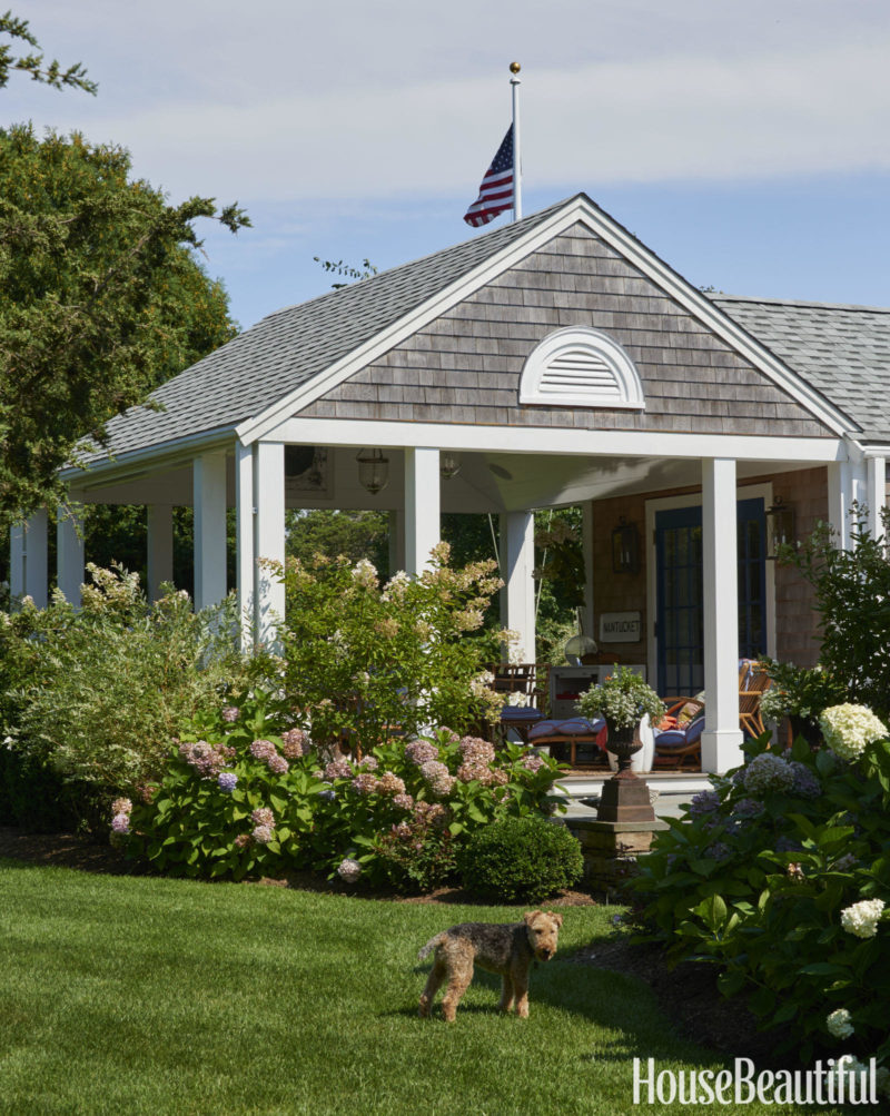 Cafe Design | Nantucket Beach House Porch-exterior