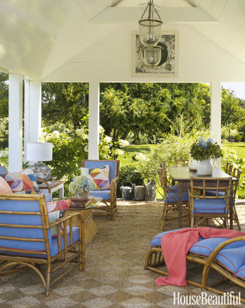 Cafe Design | Nantucket Beach House porch-2