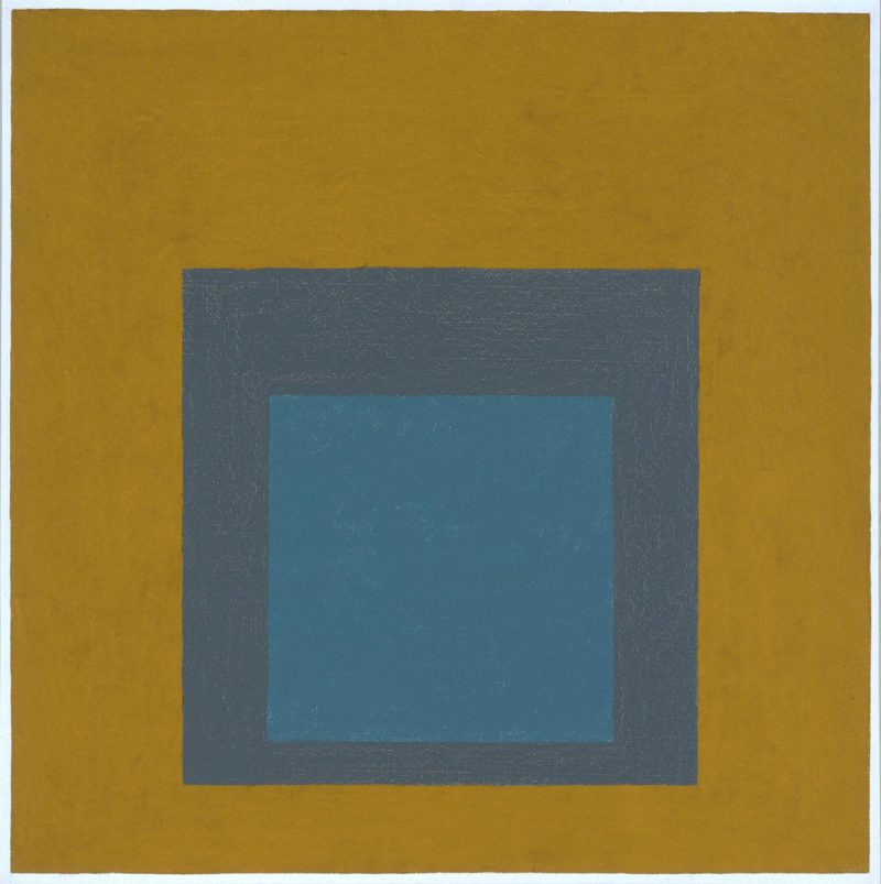 Study for Homage to the Square 1963 by Josef Albers 1888-1976
