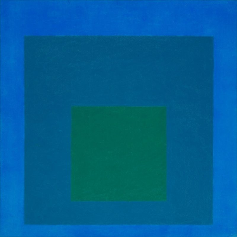 Study for Homage to the Square: Beaming 1963 by Josef Albers 1888-1976