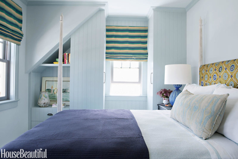Cafe Design | Jersey Shore Home | Guest Bedroom
