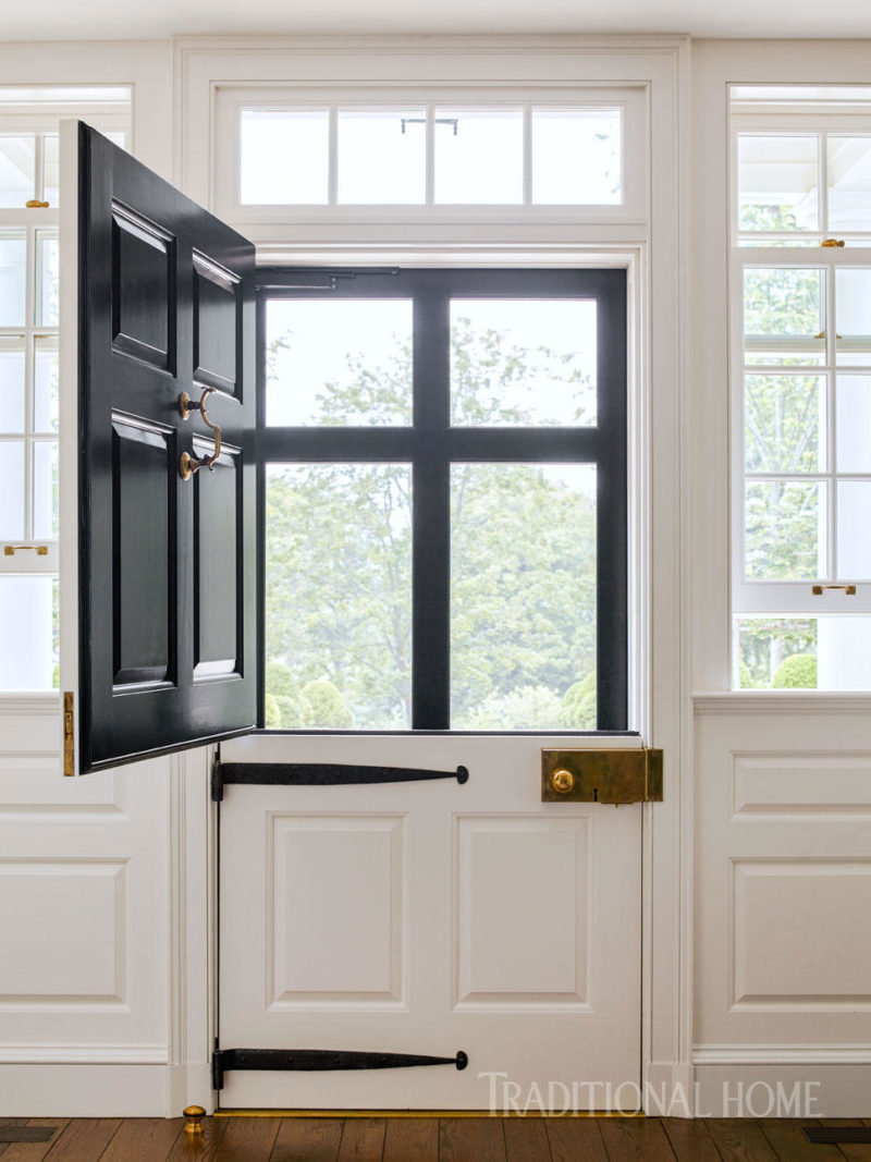 Cafe Design | Gil Schafer Dutch Door