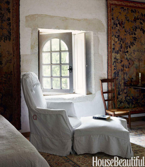 Cafe Design | French Chateau | Bedroom Chair