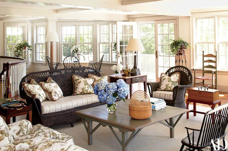 Cafe Design | Nantucket Home | Family Room 2