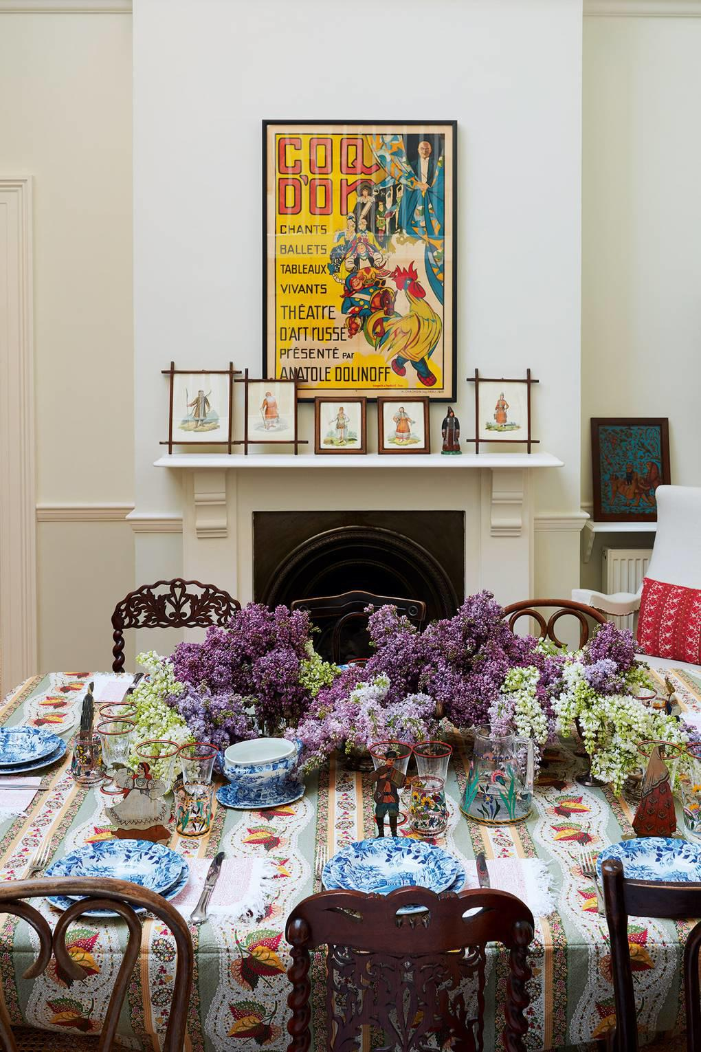 She Prints Intriguing Fabrics That Are Coveted By Design Lovers Around The World Among Her Famous Clientele Lauren Santo Domingo Who Commissioned