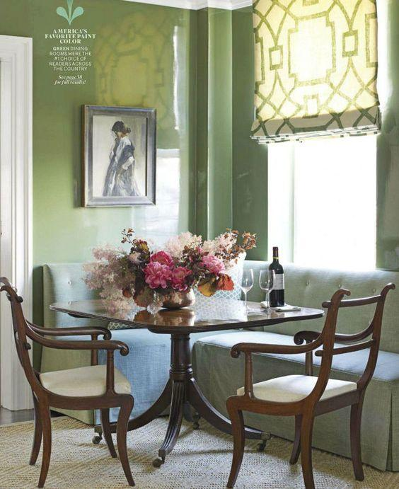 Green Living Room Ideas In East Hampton New York: Spring Refresh: 30+ Fabulous Green Rooms